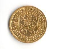 Svatováclavský 2 Dukát (1932-Au 986-6,98g), stav 0/0 n.hr., raženo 5.496 ks.