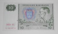 Švédsko 10 Öre 1983