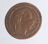 Uhry 20 Krejcar 1869 GYF, dobové falzum