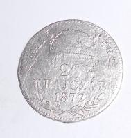 Uhry 20 Krejcar 1872 KB