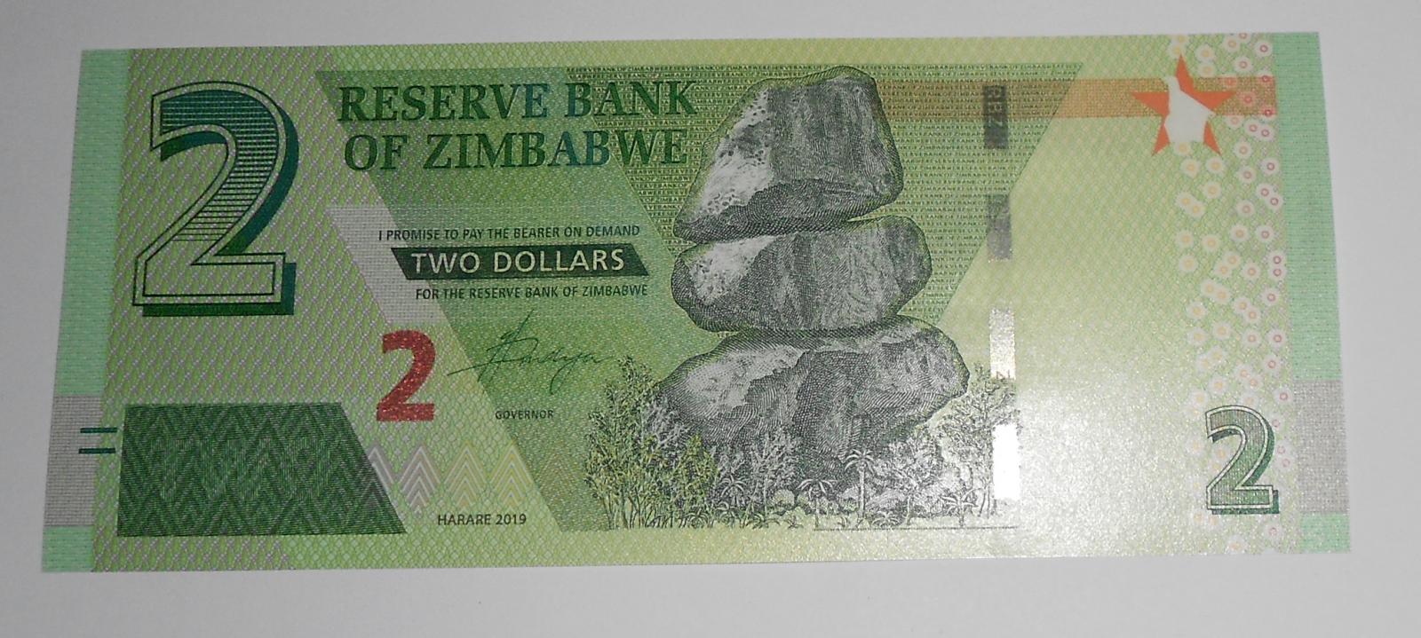 Zimbabwe 2 Dollar 2019