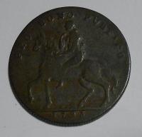 Anglie Half Penny 1793 Coventry