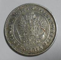 Finsko pod Ruskem 1 Marka 1890