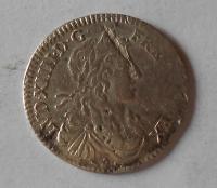 Francie 1/12 Ecu 1660 Ludvík XIV.