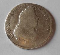 Francie 1/2 Ecu 1694 Ludvík XIV.