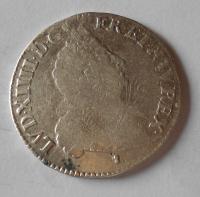 Francie 1/2 Ecu 1701 Ludvík XIV.