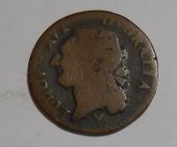 Francie 1/2 Sol 1785 Ludvík XVI.