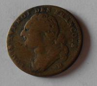 Francie 12 Dernier 1792 B Ludvík XVI.