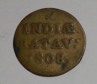 Hol. Indie 1/6 Gulden 1808