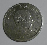 Itálie 1 Lira 1863