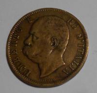 Itálie 10 Centesimi 1894
