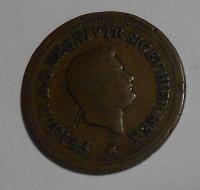 Itálie – Neapol 1 1/2 Tonesi 1854 Ferdinand II.