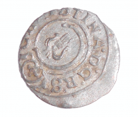Livonie Solidus 1648 Kristýna Švédská