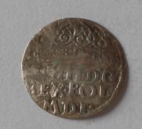Polsko 1/2 Groš 1627 Zikmund III.