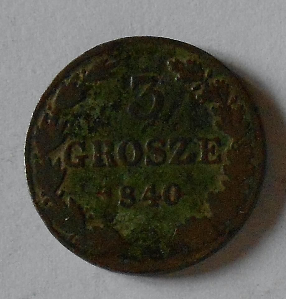 Polsko 3 Groš 1840