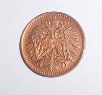 Rakousko 1 Haléř 1893, pěkná
