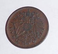 Rakousko 1 Haléř 1898