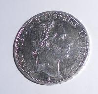 Rakousko 1 Zlatník/Gulden 1859 A stav