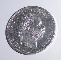 Rakousko 1 Zlatník/Gulden 1878, stav