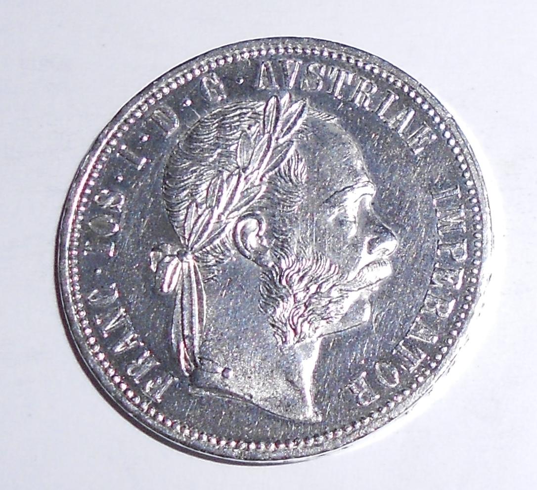 Rakousko 1 Zlatník/Gulden 1882, stav