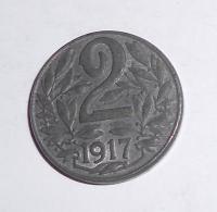 Rakousko 2 Haléř 1917, stav
