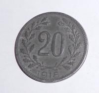 Rakousko 20 Haléř 1918, pěkný