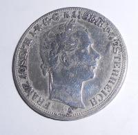 Rakousko Tolar spolkový 1858 A, měl ouško