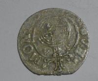 Švédsko 1/2 4 Tolar 1634 Kristýna