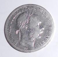 Uhry 1 Zlatník/Gulden 1885 KB