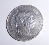 Uhry 5 Koruna 1900 KB, pěkná