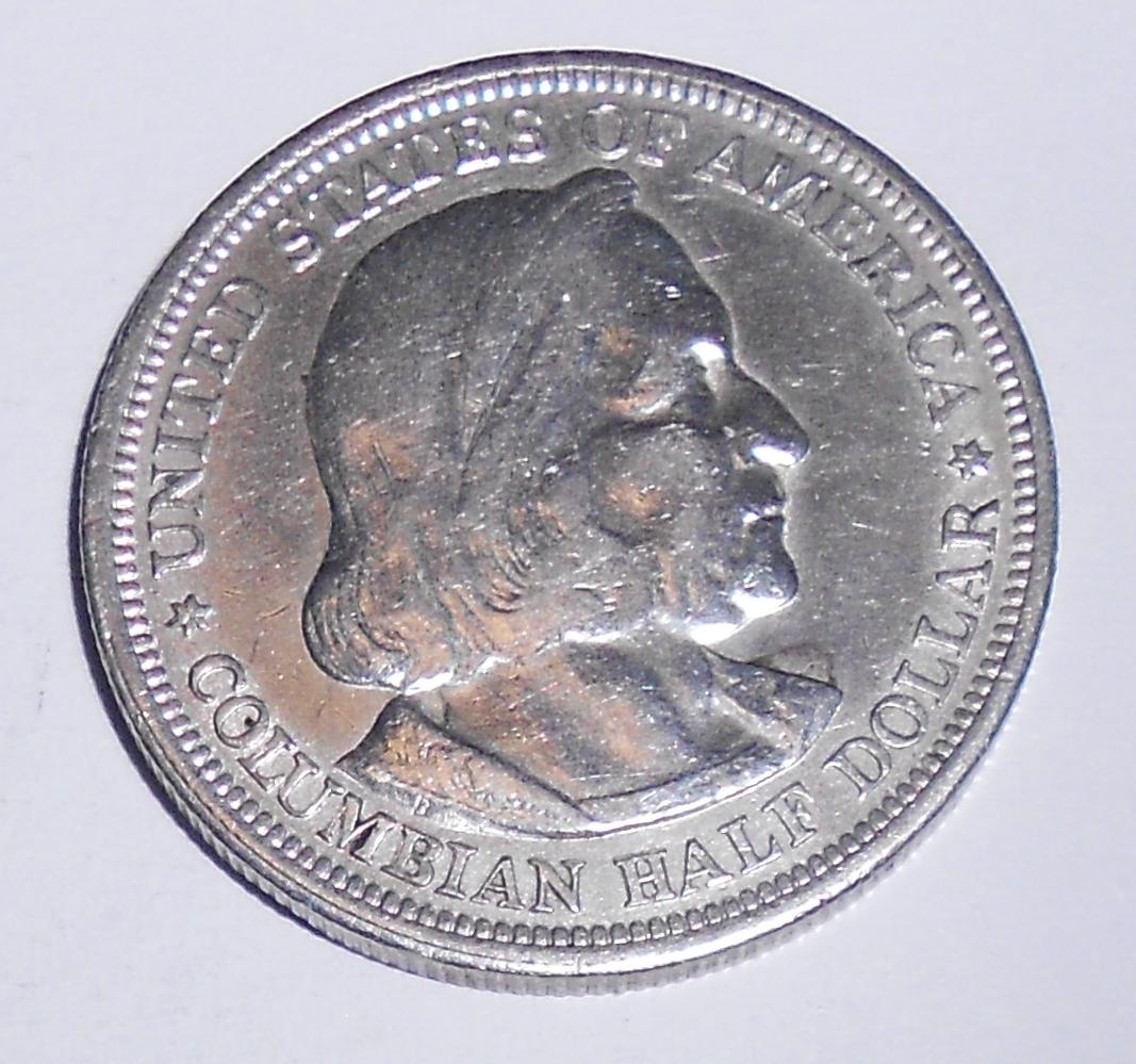 USA 1/2 Dolar 1893 Kolumbovská výstava