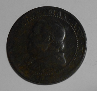 Vatikán 1 Soldo 1867 Pivs IX.