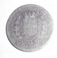 Itálie 1 Lira 1865