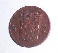 Nizozemí 1/2 Cent 1870