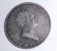 Polsko pod Ruskem 10 Zlotý 1823 Alexander I., novoražba