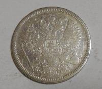 Rusko 20 Kopějka 1872
