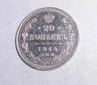 Rusko 20 Kopějka 1914
