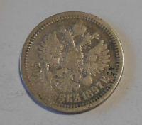 Rusko 50 Kopějka 1897 Nikolaj II.