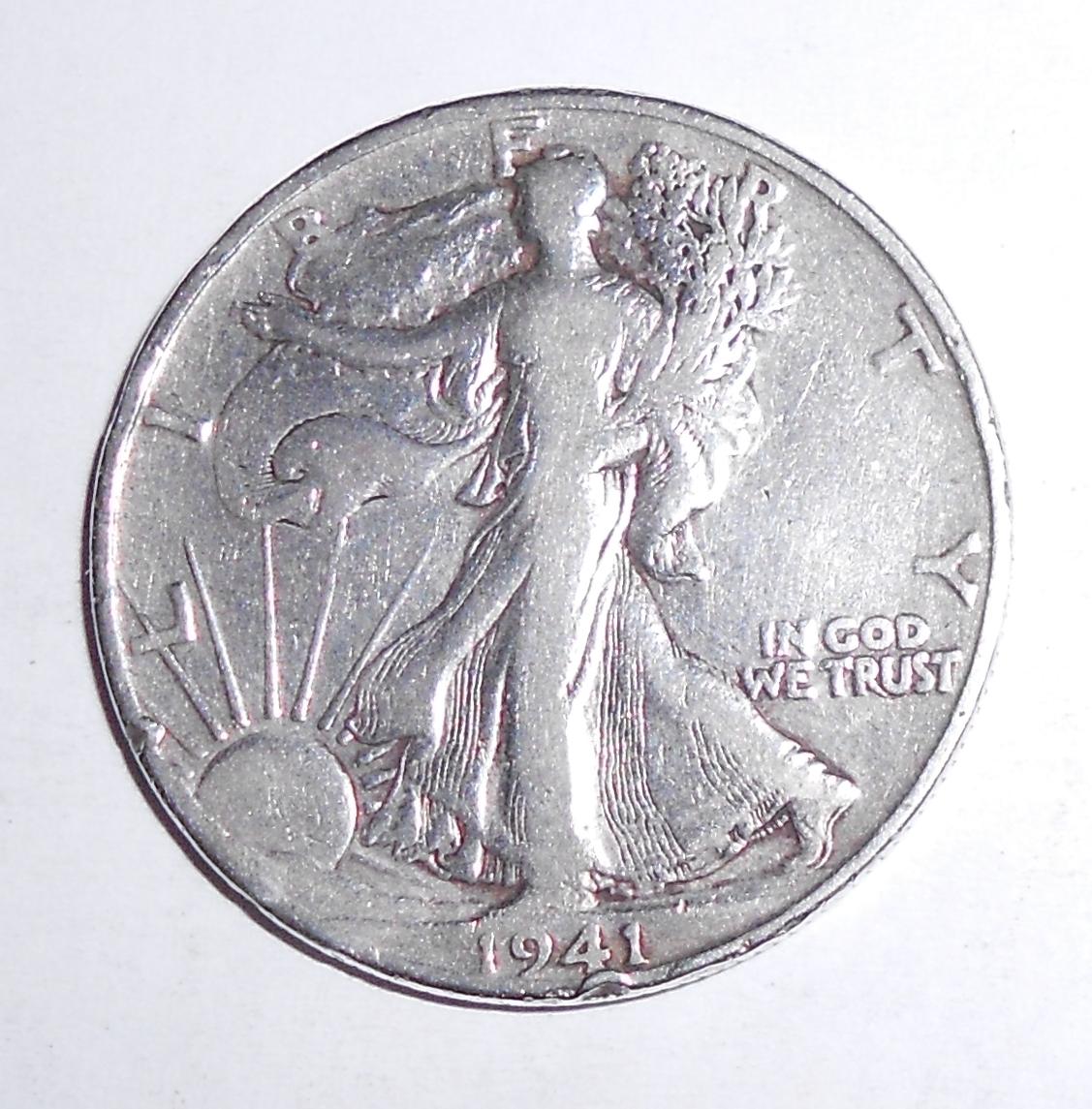 USA 1/2 Dolar 1941