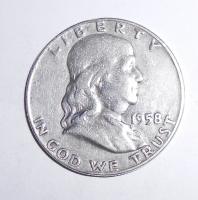 USA 1/2 Dolar 1958