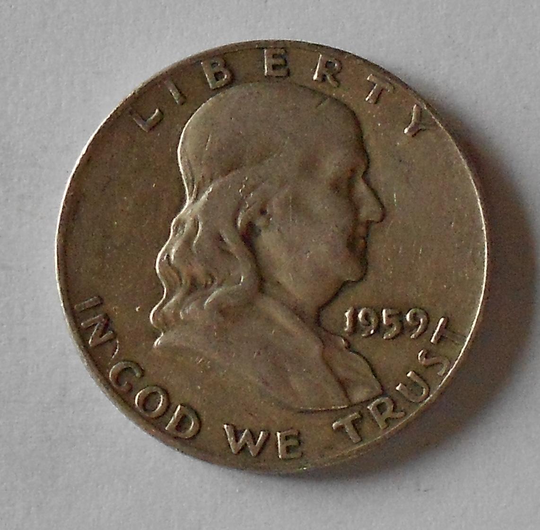 USA 1/2 Dolar 1959