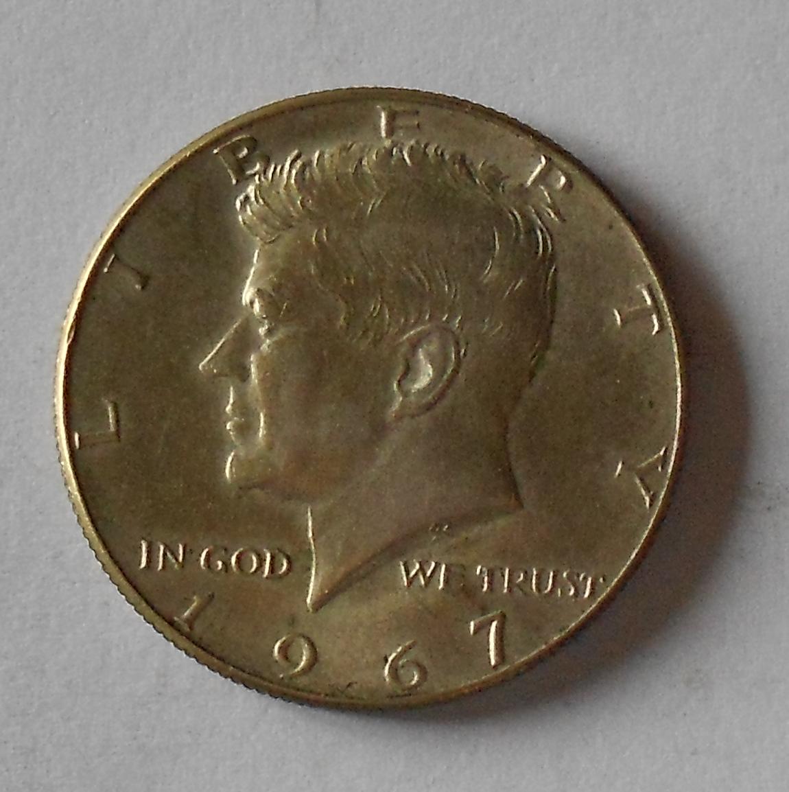 USA 1/2 Dolar 1967 Kennedy