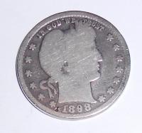 USA 1/4 Dolar 1893