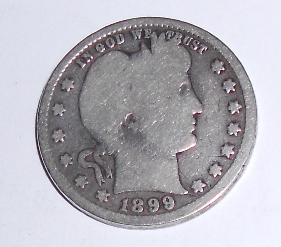 USA 1/4 Dolar 1899