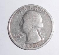 USA 1/4 Dolar 1934