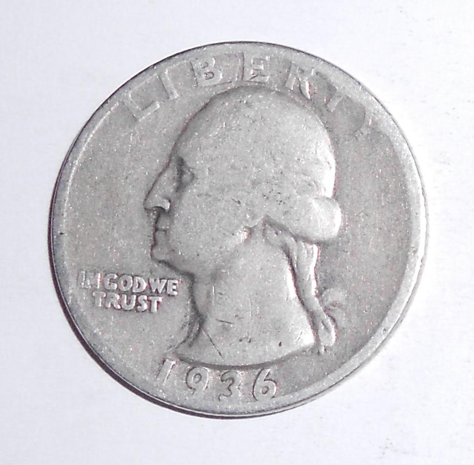 USA 1/4 Dolar 1936
