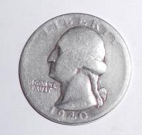 USA 1/4 Dolar 1940