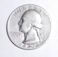 USA 1/4 Dolar 1941