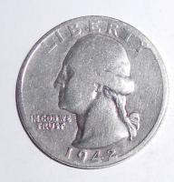 USA 1/4 Dolar 1942