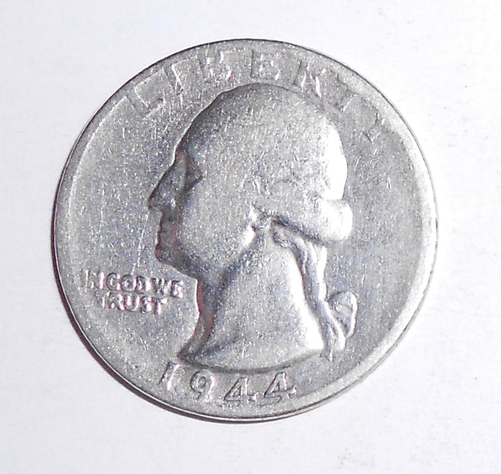 USA 1/4 Dolar 1944